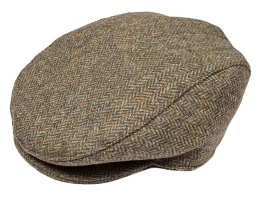 Dents - Abraham Moon Yorkshire Tweed Flat Cap Spruce