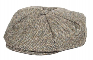 Dents - Abraham Moon Yorkshire Tweed 8 Piece Cap Spruce