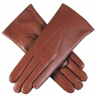 Dents - Ripley Ladies Fur Lined Hairsheep Leather Gloves Cognac