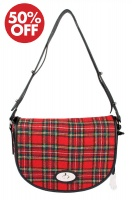 Dents - Elise Flap Over Tartan Bag Royal Stewart