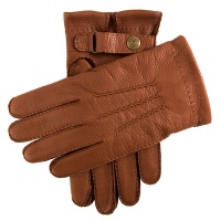 Dents - Canterbury Mens Cashmere Lined Deerskin Leather Gloves