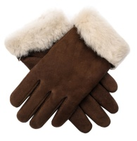Dents - Louisa Women's Sheepskin Gloves Cognac