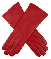 Dents - Helene Ladies Cashmere Lined Plain Hairsheep Leather Gloves Berry