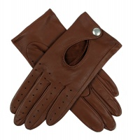 Dents - Thruxton Ladies Hairsheep Leather Driving Gloves Cognac