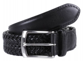 Dents - Plaited leather belt