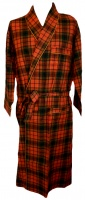 Viyella - Dressing Gown Hunting Red