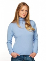 William Lockie - Charlotte 1ply Cashmere roll collar pullover