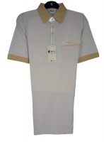 Gabicci - Plain Polo shirt with contrasting collar