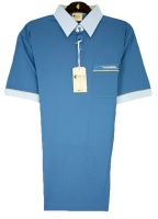 Gabicci - Riviera polo shirt with contrast collar