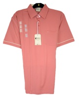 Gabicci - polo shirt with square check pattern