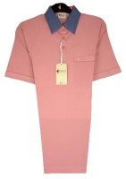 Gabicci - Sunrise polo shirt with contrast collar