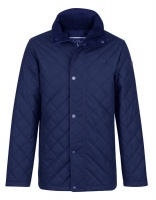 Jack Murphy - Dara Quilted Waxed Jacket Heritage Navy
