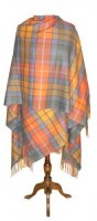 Johnstons  - Cashmere cape Antique Buchanan