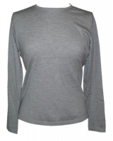 Johnstons - Ladies superfine cashmere crew neck pullover