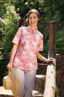 Double TWO - Ladies coral blouse