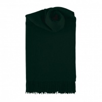 Johnstons classic cashmere scarf in tartan green