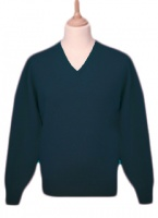 William Lockie Leven Mens Lambswool V-neck Pullover
