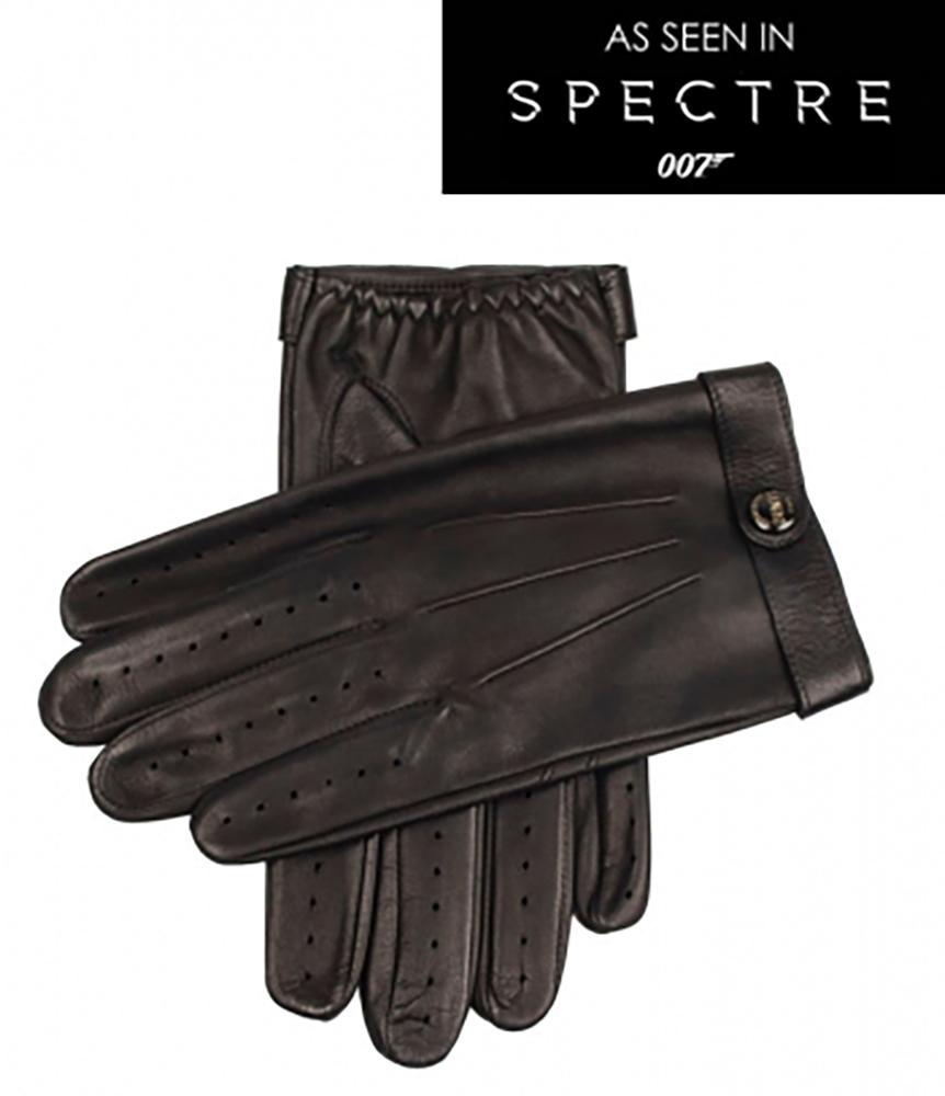 James bond leather driving gloves - Dents Fleming James Bond Spectre Leather Driving Gloves