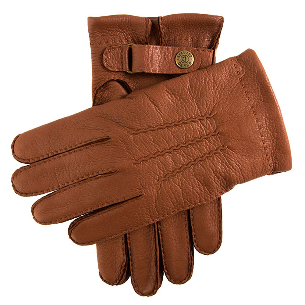Mens leather gloves dents - Dents Canterbury Mens Cashmere Lined Deerskin Leather Gloves