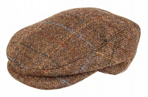Dents - Abraham Moon Yorkshire Tweed Flat Cap