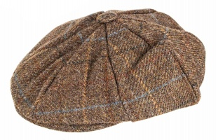 Dents - Abraham Moon Yorkshire Tweed 8 Piece Cap