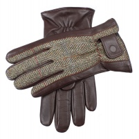 Dents - Westwood Harris tweed and hairsheep leather gloves