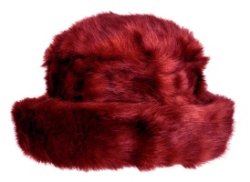 Dents - Plain Faux Fur Hat