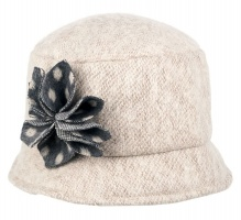 Dents - Marl Wool Blend Bucket Hat