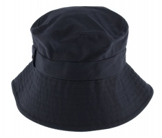 Dents - Waxed Cotton Hat with Abraham Moon Underside