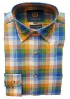 Viyella Full Colour Herringbone Check Shirt