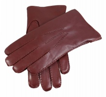 Dents Pembroke Men's Handsewn Fur Lined Hairsheep Leather Gloves