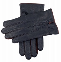 Dents - Exeter Men's Cashmere Lined Deerskin Leather Gloves