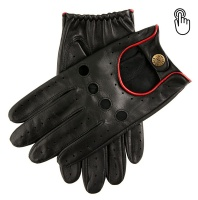 Dents Silverstone Men's Touchscreen Leather Driving Gloves