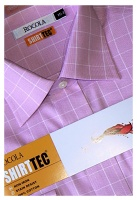 Rocola - Shirttec pink check shirt