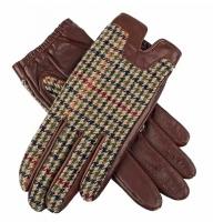 Dents Megan Ladies Tweed Backed Hairsheep Leather Gloves