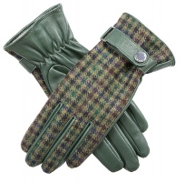 Dents - Margaret Women's Leather & Abraham Moon Tweed Gloves