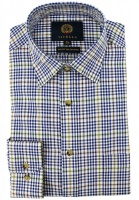 Viyella - Windowpane check shirt