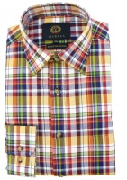 Viyella - Bright Plaid check shirt