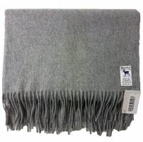 Hilltop - Cashmere stole Light Grey