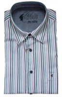 Gabicci - Elderberry striped short sleeve shirt