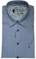 Gabicci - Sky checked short sleeve shirt