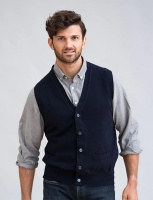 William Lockie Gordon Mens Geelong Lambswool Waistcoat