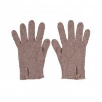 Johnstons - Ladies Cashmere button loop gloves