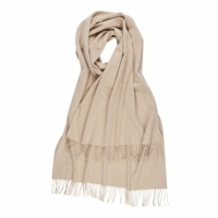 Johnstons - Cashmere stole Light Brown FAULTY