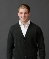 William Lockie leven lambswool cardigan