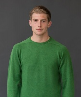 William Lockie Leven Mens Lambswool Round Neck Pullover