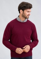 William Lockie - Melrose 2ply cashmere crew neck pullover