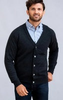 William Lockie - Oxton 1ply cashmere cardigan