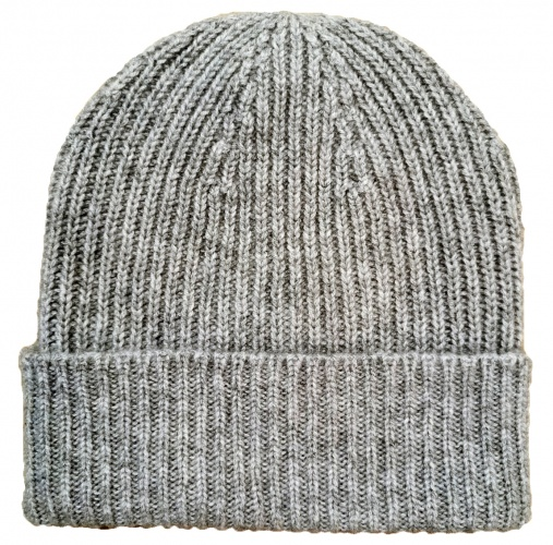 Scarf Company - 3ply Cashmere Ribbed Beanie