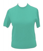Westaway - Ladies lambswool short sleeve crew neck
